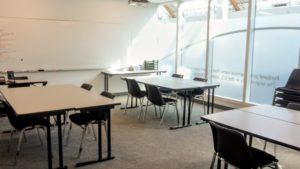 rental rent Portland event space class classroom school hourly Lloyd District downtown